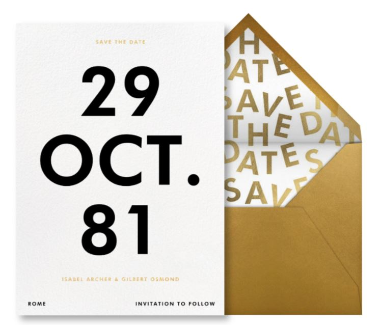save the date ideas funny