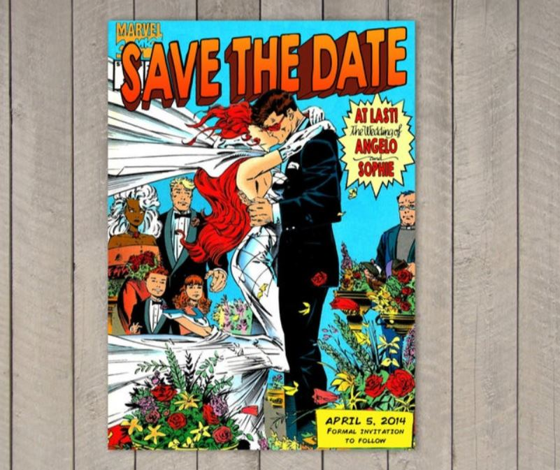 save the date ideas images
