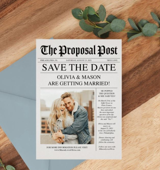save the date message ideas