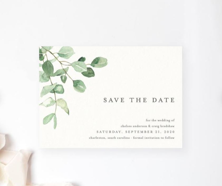 save the date ideas rustic
