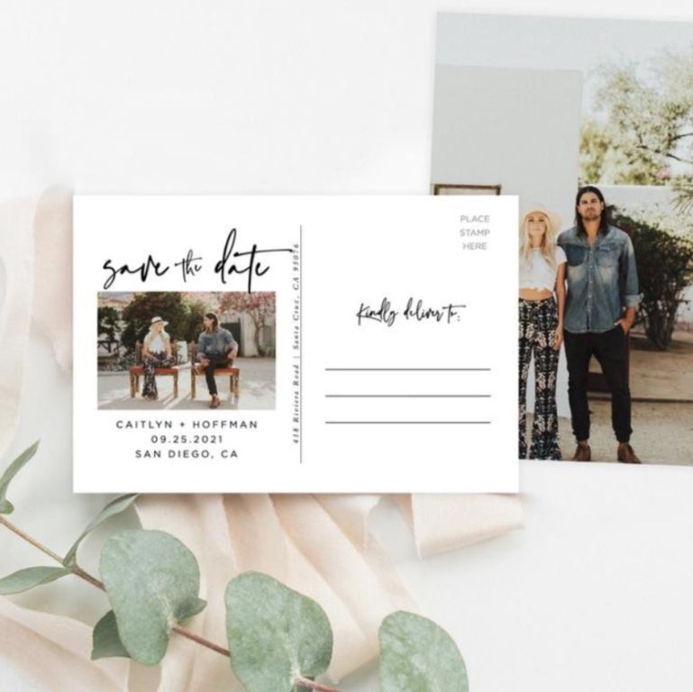 save the date ideas photoshoot