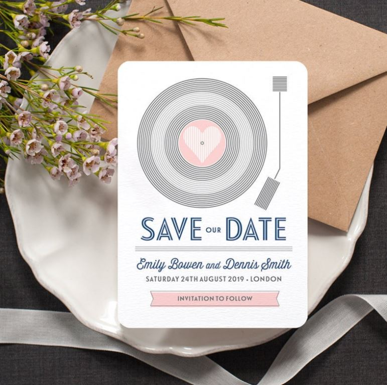 save the date ideas online free