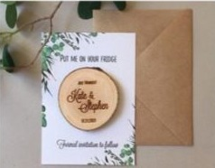 wedding magnets as a perfect wedding gift idea