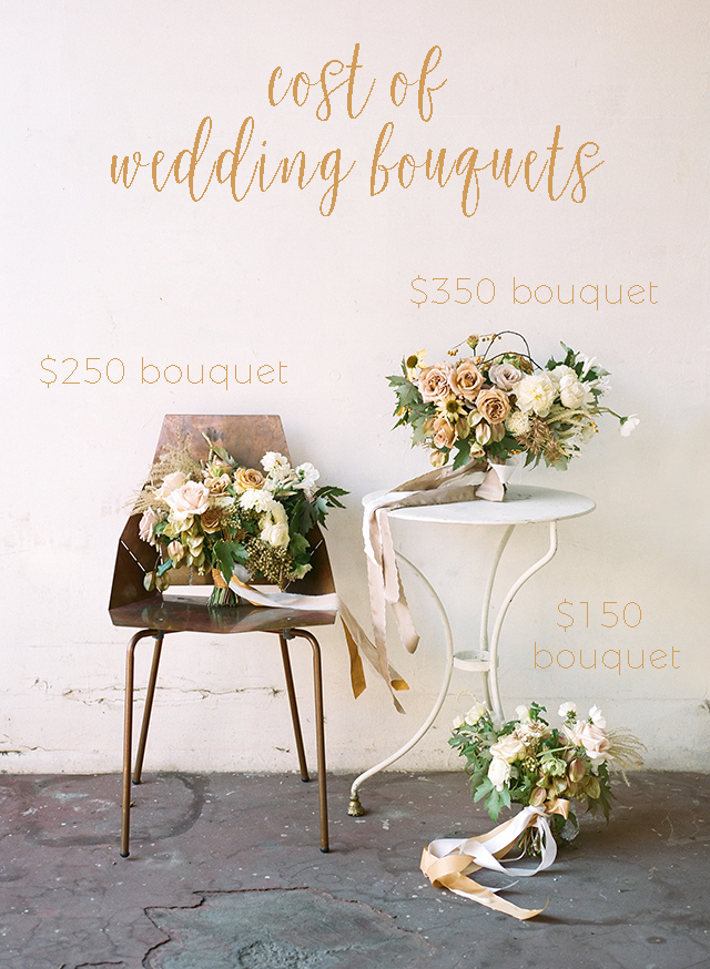 average cost of flowers for a wedding