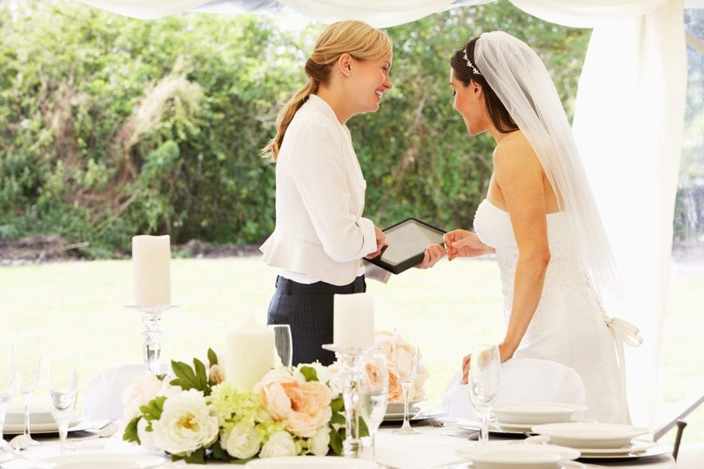 experienced wedding planner